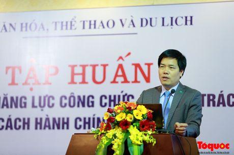 Khai mac Lop tap huan nang cao nang luc cong chuc chuyen trach cai cach hanh chinh - Anh 2