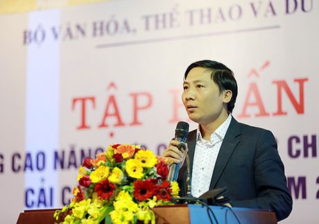 Khai mac Lop tap huan nang cao nang luc cong chuc chuyen trach cai cach hanh chinh - Anh 3