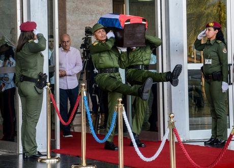 Tro cot Fidel Castro bat dau hanh trinh ve noi an nghi - Anh 2