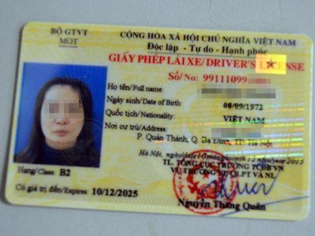 Co the dung giay to nao khac de thay the GPLX khong? - Anh 1