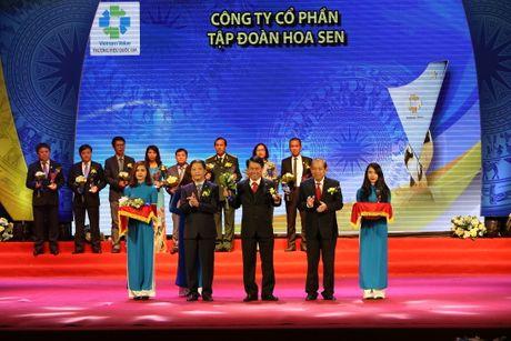 Ton Hoa Sen lan thu 3 dat Thuong hieu Quoc gia - Anh 1