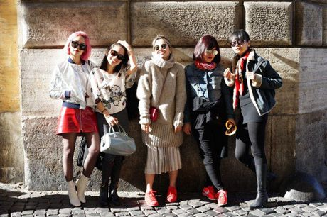 Ngau hung o Roma cua fashionista Viet - Anh 2