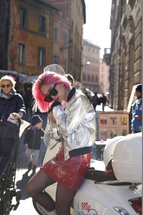 Ngau hung o Roma cua fashionista Viet - Anh 3