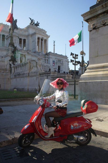 Ngau hung o Roma cua fashionista Viet - Anh 6
