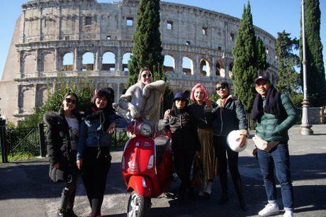 Ngau hung o Roma cua fashionista Viet - Anh 9