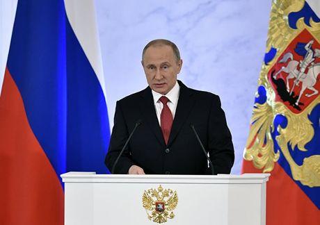 Tong thong Putin: Kinh te quoc phong la dong luc kinh te Nga - Anh 1