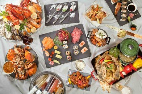 Nha hang Saigon Cafe tro lai voi xu huong buffet hoan toan moi - Anh 1