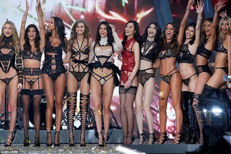 Dan nguoi mau nong bong tren san dien Victoria's Secret 2016 - Anh 12