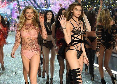 Dan nguoi mau nong bong tren san dien Victoria's Secret 2016 - Anh 6