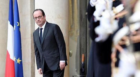 Tong thong Phap Francois Hollande tuyen bo khong tranh cu nhiem ky hai - Anh 1