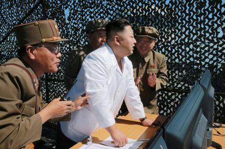 Kim Jong-un truc tiep chi dao tap tran phao binh 'huy diet' Seoul - Anh 1