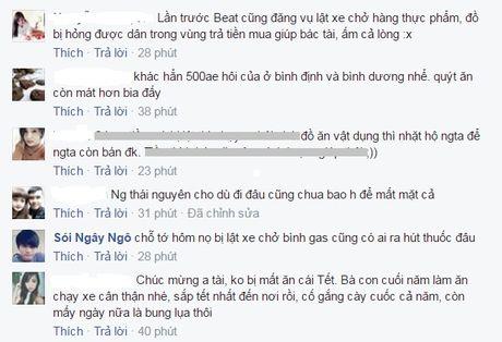 Lat xe tai cao toc Ha Noi – Thai Nguyen: Nguoi dan giup tai xe gom nhat quyt - Anh 5