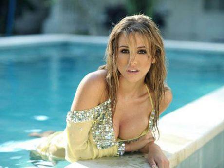 Gaelle Garcia Diaz - my nhan bo sao M.U, theo sao M.C - Anh 2