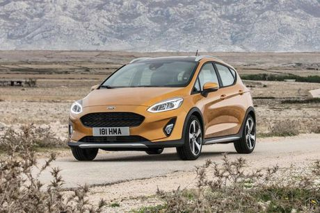 'Dau' Hyundai i20 Active, Ford cung co Fiesta Active - Anh 5