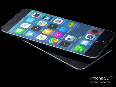 Can canh ve dep don tim cua concept iPhone SE 2017 - Anh 2