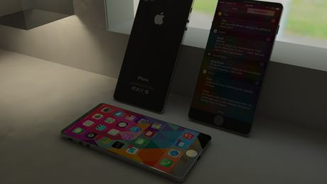 Can canh ve dep don tim cua concept iPhone SE 2017 - Anh 4