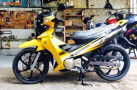 'Dap thung' Yamaha 125ZR do khung hon 300 trieu tai Sai Gon - Anh 1