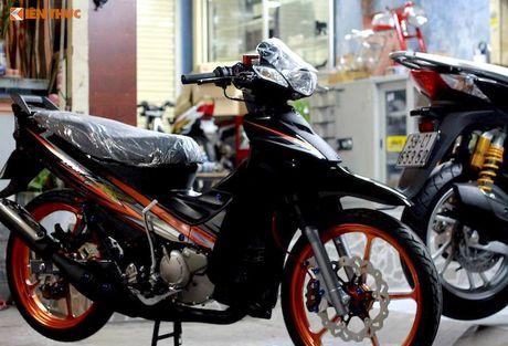 'Dap thung' Yamaha 125ZR do khung hon 300 trieu tai Sai Gon - Anh 2