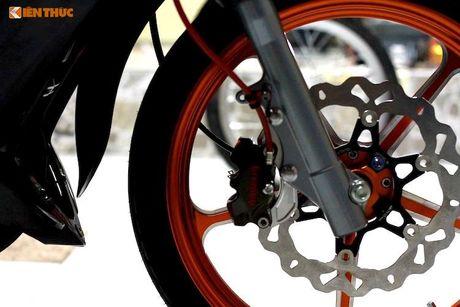 'Dap thung' Yamaha 125ZR do khung hon 300 trieu tai Sai Gon - Anh 3