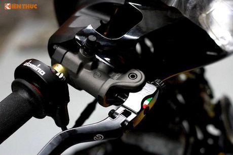 'Dap thung' Yamaha 125ZR do khung hon 300 trieu tai Sai Gon - Anh 4