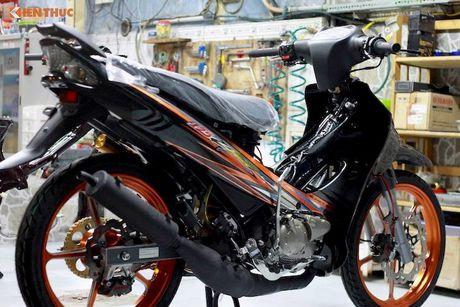 'Dap thung' Yamaha 125ZR do khung hon 300 trieu tai Sai Gon - Anh 5