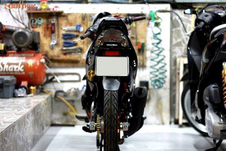 'Dap thung' Yamaha 125ZR do khung hon 300 trieu tai Sai Gon - Anh 7