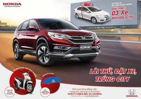 Thang 12: Lai thu o to trung o to, xe may Honda - Anh 1
