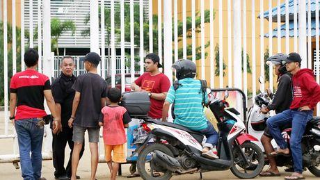 Truoc tran Indonesia - Viet Nam: Noi lo vo san Pakansari - Anh 1