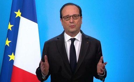 Tong thong Phap Francois Hollande tuyen bo se khong tai tranh cu - Anh 1