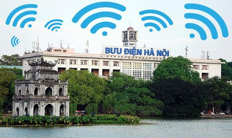 Wifi free o khu vuc Ho Guom co that su 'than toc' ? - Anh 1
