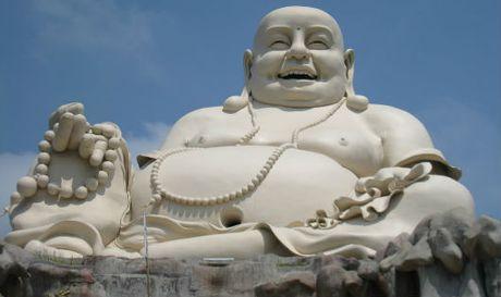 Ly giai nu cuoi trong hinh tuong Bo Tat Di Lac - Anh 1