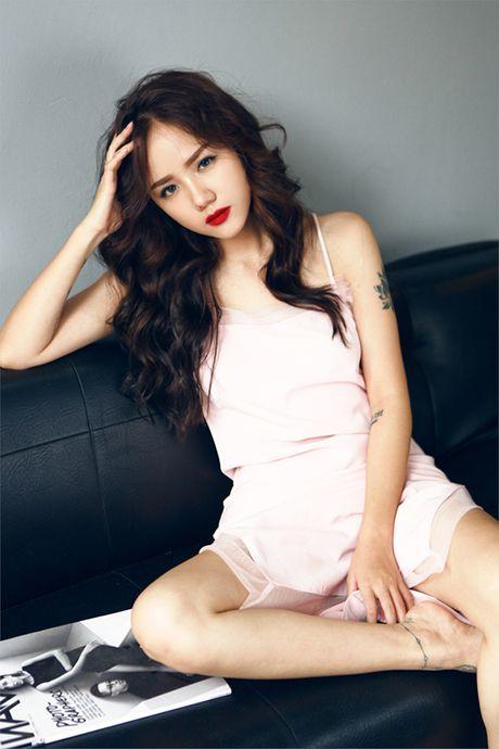 Hot girl Phuong Ly khong can ho van dep sexy, hut mat - Anh 1