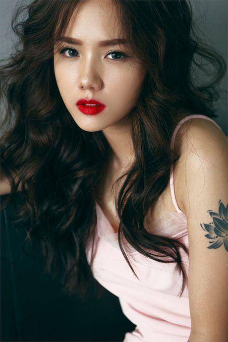 Hot girl Phuong Ly khong can ho van dep sexy, hut mat - Anh 2