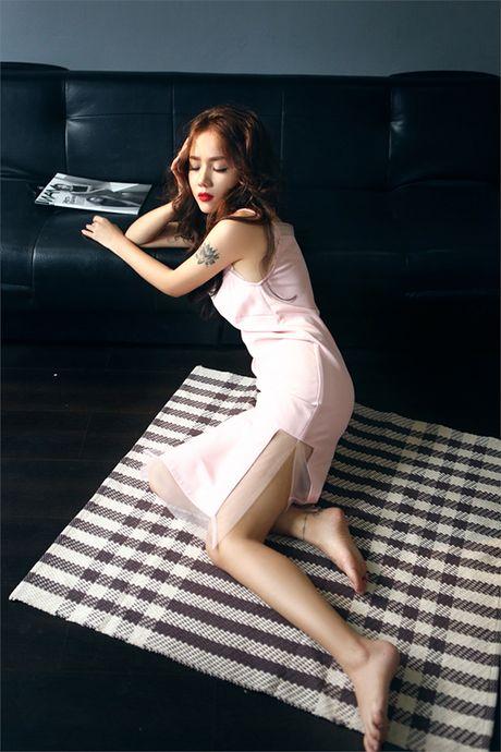 Hot girl Phuong Ly khong can ho van dep sexy, hut mat - Anh 4