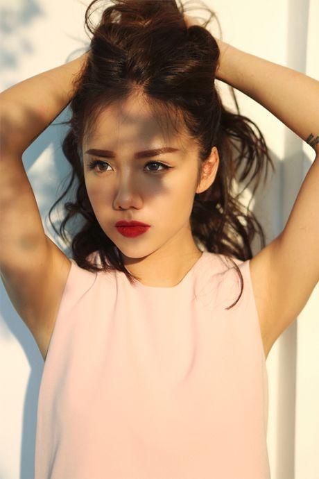 Hot girl Phuong Ly khong can ho van dep sexy, hut mat - Anh 8
