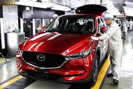 Mazda CX-5 2017 sap den tay khach hang - Anh 1