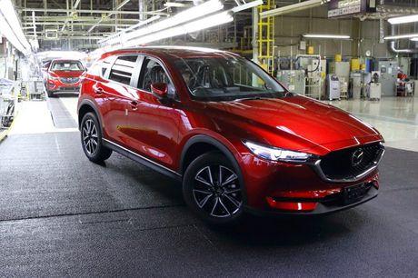 Mazda CX-5 2017 sap den tay khach hang - Anh 2
