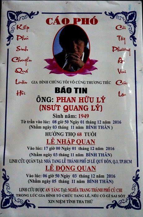 Nghe si Quang Ly qua doi: Con gai, con trai nuc no ben canh linh cuu cha - Anh 9