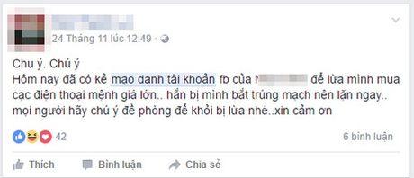 Tai khoan gia mao, tai khoan 'rac' tran ngap Facebook - Anh 1