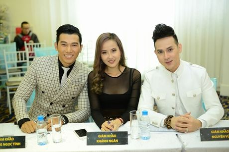Nguyen Vu lan dau ngoi ghe nong cuoc thi 'Tim kiem nguoi mau the hinh Viet Nam' - Anh 1