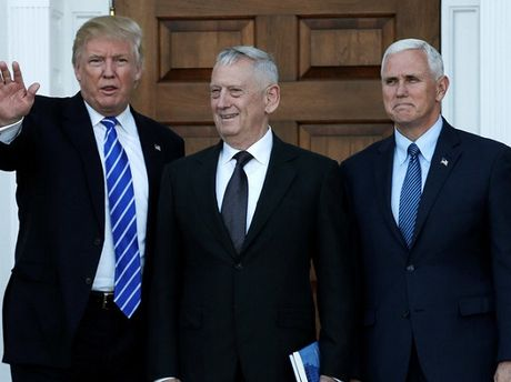 Ong Trump de cu tuong James Mattis lam Bo truong quoc phong - Anh 1