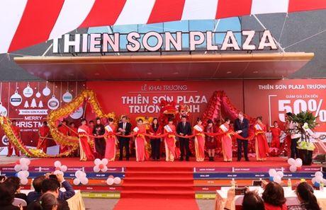 Khai truong Trung tam thuong mai Thien Son Plaza - Anh 1