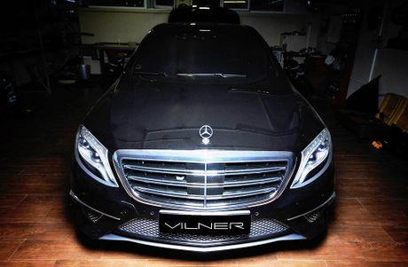 Noi that Mercedes-AMG S 63 dep huyen bi qua tay do Vilner - Anh 9