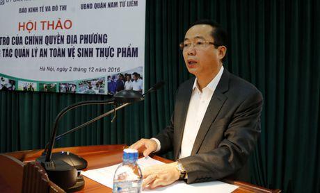 Quan Nam Tu Liem: Thu hut doanh nghiep san xuat, kinh doanh thuc pham sach - Anh 1
