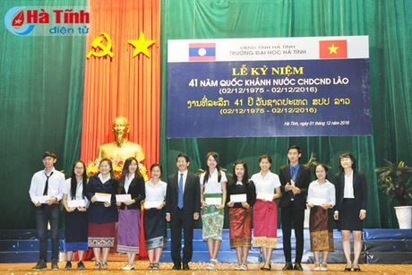 Dai hoc Ha Tinh ky niem 41 nam Quoc khanh CHDCND Lao - Anh 10