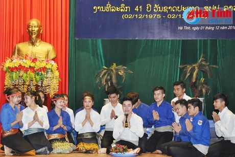 Dai hoc Ha Tinh ky niem 41 nam Quoc khanh CHDCND Lao - Anh 5