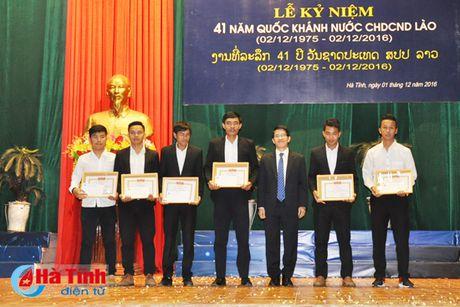 Dai hoc Ha Tinh ky niem 41 nam Quoc khanh CHDCND Lao - Anh 8