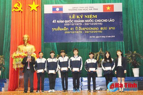 Dai hoc Ha Tinh ky niem 41 nam Quoc khanh CHDCND Lao - Anh 9