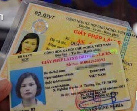 Doi giay phep lai xe: Tong cuc Duong bo Viet Nam noi gi? - Anh 1