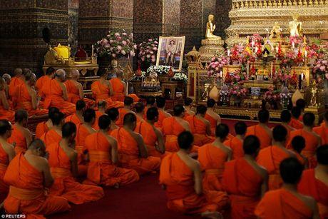 Chum anh: Hoang Thai tu Thai Lan Vajiralongkorn trong nghi le len ngoi vua - Anh 4